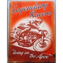 plaque legendary racers...