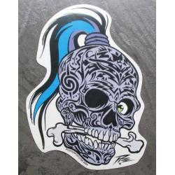 sticker crane tribal tatoué...