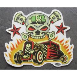sticker ford 32  hot rod...