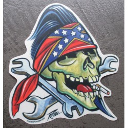 sticker crane bandana rebel...