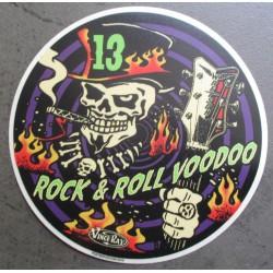 sticker crane rock roll...