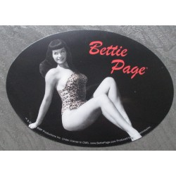 sticker bettie page maillot...