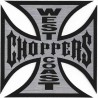 sticker west coast choppers 16 cm croix de malte biker usa