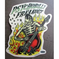 sticker squelette...