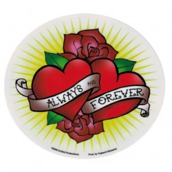 sticker always and forever...