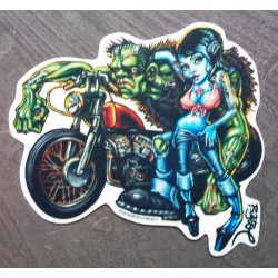 sticker pin up  +...