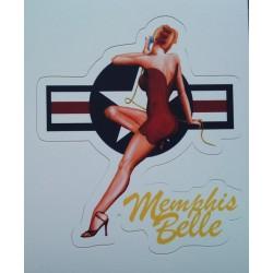 mini sticker pin up menphis...