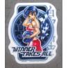 sticker pin up manga sexy winner takes all autocollant