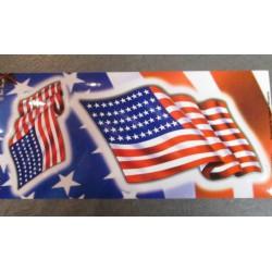 sticker drapeau americain...