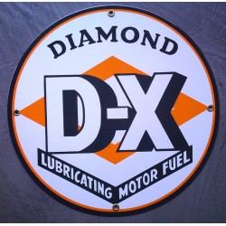 plaque emaillée diamon DX...