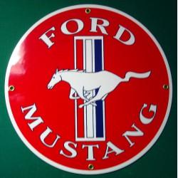 plaque emaillée ford...