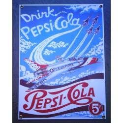 plaque emaillée pepsi cola...