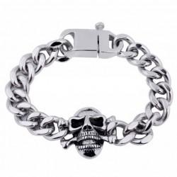 bracelet gros crane inox et...