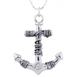 collier homme encre