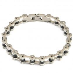 bracelet chaine moto simple...