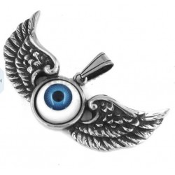 pendentif inox oeil volant...