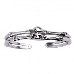 bracelet crane et os en...