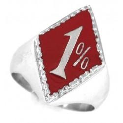 chevaliere 1%  rouge 9us en...