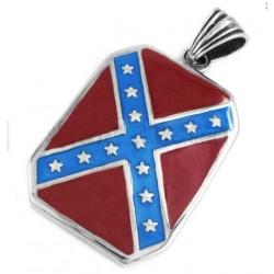 pendentif inox drapeau...