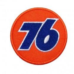 patch 76 oil rond orange...