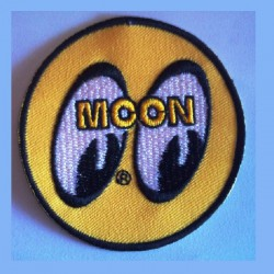 patch moon eyes rond jaune...