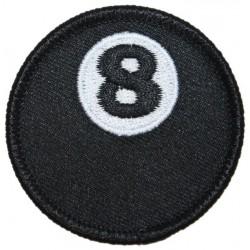 patch 8 ball boule de...