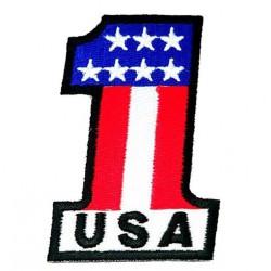 patch N°1 USA ecusson...