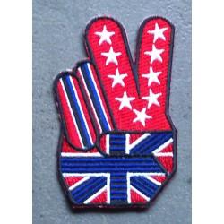 patch peace anglais union...