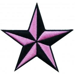 patch étoile rockabilly...