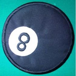 gros patch 8 ball dos 20cm...
