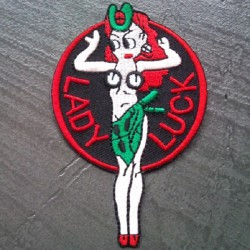 patch lady luck chance pin...
