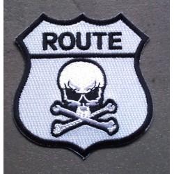 patch blason route crane...