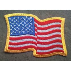 patch drapeau USA plissé...