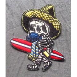 patch crane surfer mexicain...