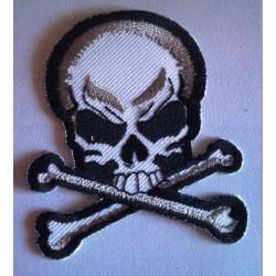 patch crane pirate blanc...