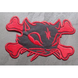 gros patch chat pirate noir...