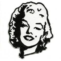 patch marilyn monroe noir...