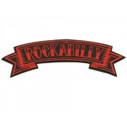 patch rockabilly banderolle...