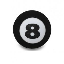 antenna ball 8 ball boule de billard noir  antenne auto deco universel