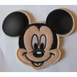 patch mickey écusson thermocollant pour vetement enfant