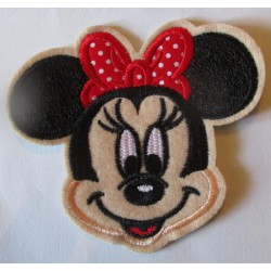 patch minnie écusson thermocollant pour vetement enfant