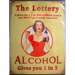 plaque pin upalcoo the lottery style affiche retro 50's usa