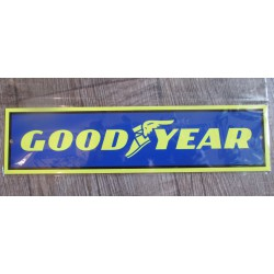 plaque good year pneumatique tole deco garage loft pub metal