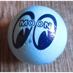 antenna ball moon eyes bleu clair huile essence boule d'antenne auto