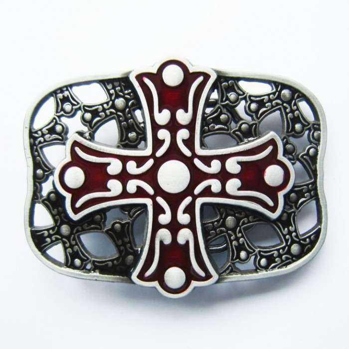 boucle de ceinture celtic croix celte rouge homme femme 40d438ea87f