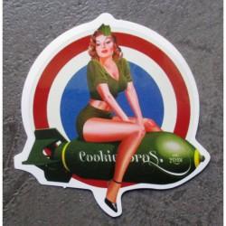 mini sticker pin up...
