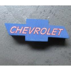 antenna ball logo chevrolet bleu en mousse  boule d'antenne auto