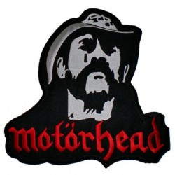 patch groupe motorhead lemmy 10x9.5cm ecusson thermocollant usa voiture