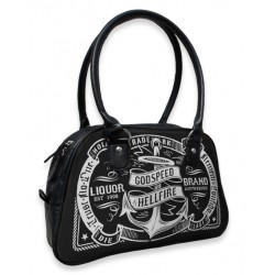petit sac a main liquor brand anchor ancre marine pin up rockabilly