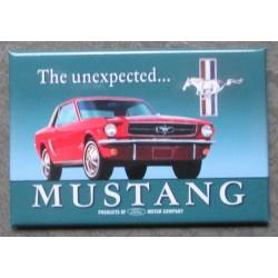 magnet 8x5.5 cm ford mustang rouge unexpected deco cuisine bar diner loft frigo